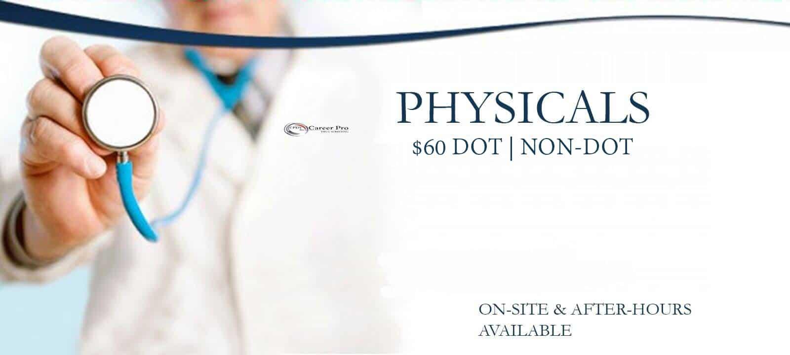 DOT Physicals Memphis | 901-888-1131 Career Pro Drug Screening